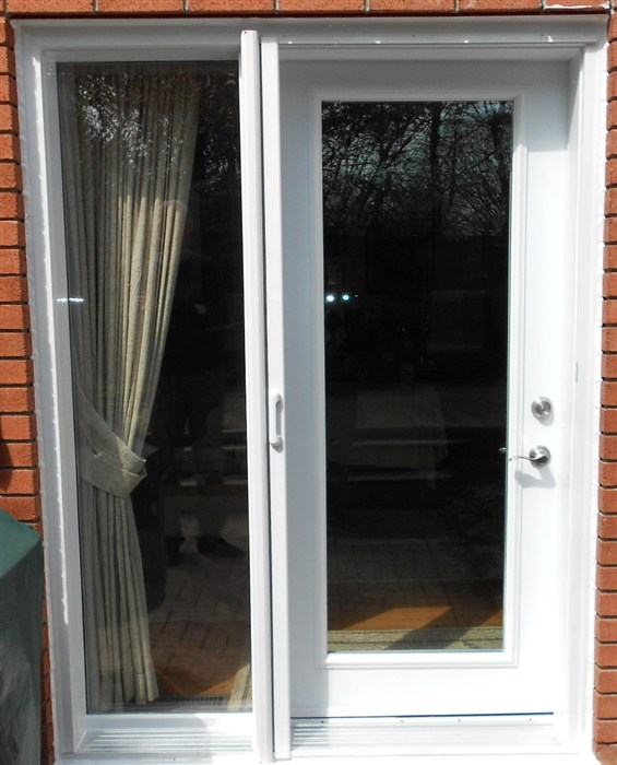 French doors garden doors mississauga french garden for Screen door for single french door